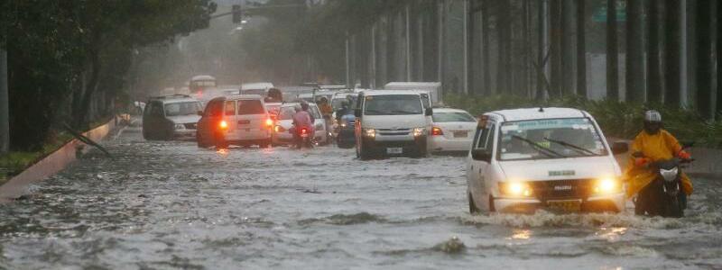 Taifun «Mangkhut - Foto: Bullit Marquez/AP