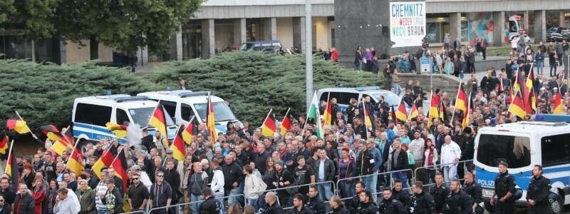 Demonstration in Chemnitz - Foto: dpa