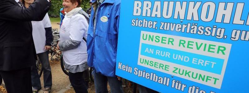 Protest in der Lausitz - Foto: Wolfgang Kumm
