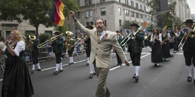 Steuben-Parade in New York - Foto: Mary Altaffer