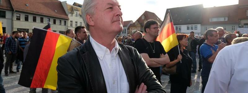 Demonstration Zukunft Heimat - Foto: Sebastian Willnow