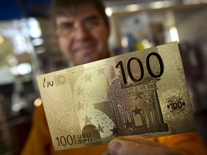 100-Euro-Schein - Foto: Frank Rumpenhorst