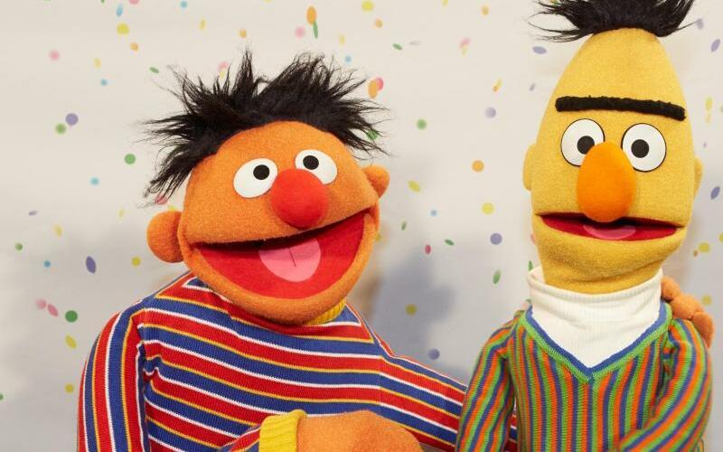 Ernie und Bert - Foto: Georg Wendt