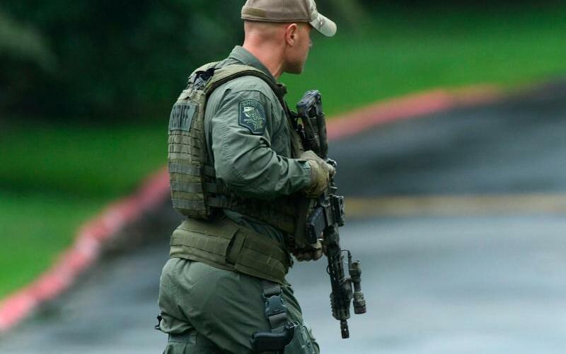 Einsatz - Foto: Jerry Jackson/The Baltimore Sun via AP