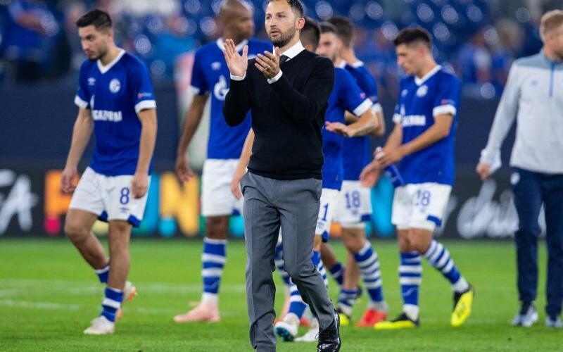 Schalke-Coach - Foto: Guido Kirchner