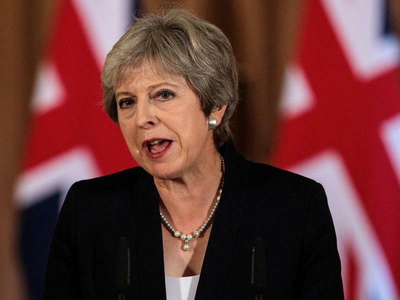 Theresa May - Foto: Jack Taylor/Pool Getty Images/PA Wire