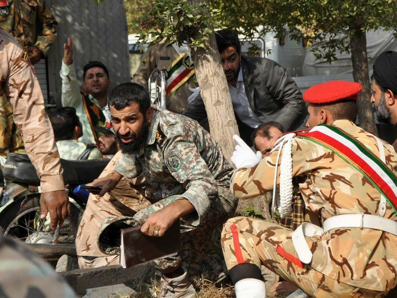 Angriff - Foto: Behrad Ghasemi/Iranian Students' News Agency, ISNA