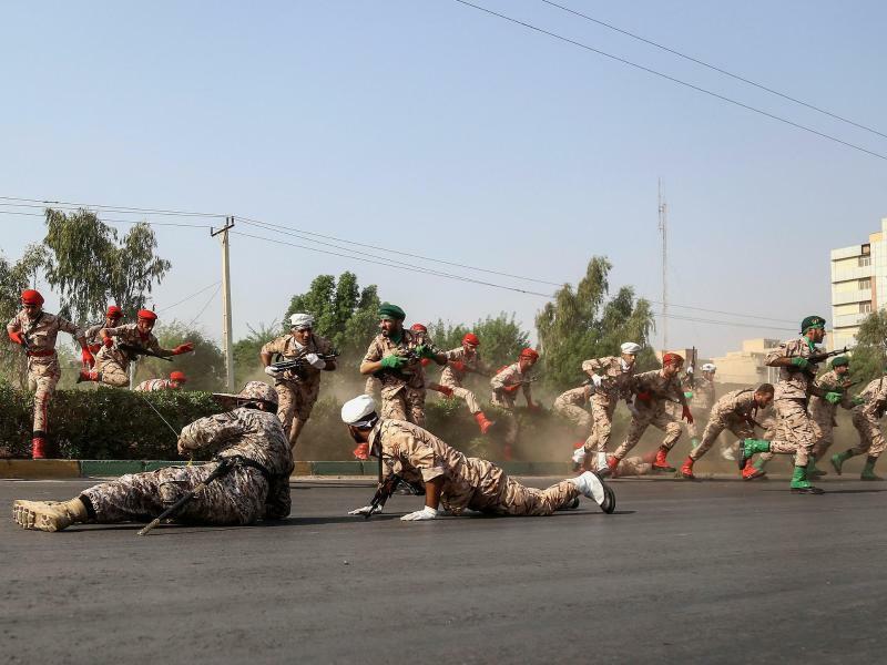Angriff auf Militärparade im Iran - Foto: Morteza Jaberian/XinHua/ISNA