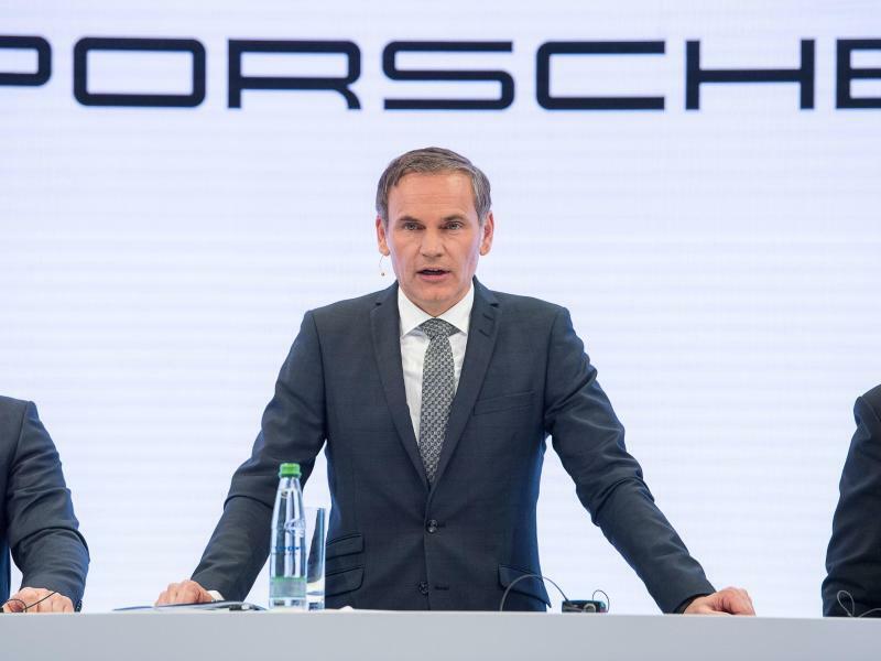 Porsche-CEO Oliver Blume - Foto: Sebastian Gollnow