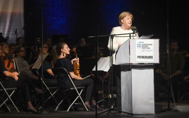 Angela Merkel - Foto: Stefan Sauer