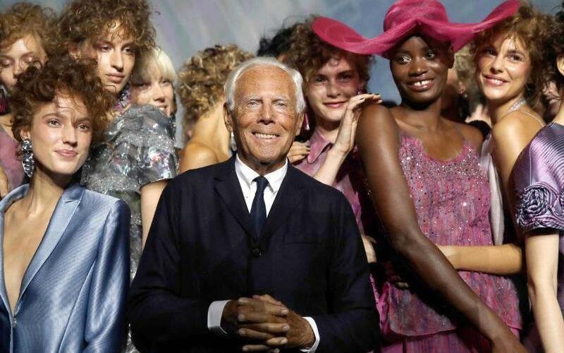 Mailänder Modewoche - Giorgio Armani - Foto: Luca Bruno/AP