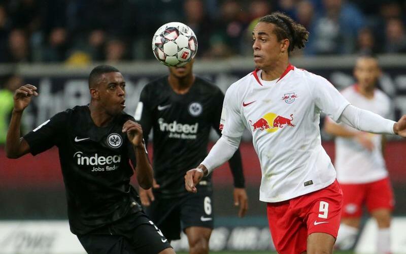 Eintracht Frankfurt - RB Leipzig - Foto: Thomas Frey