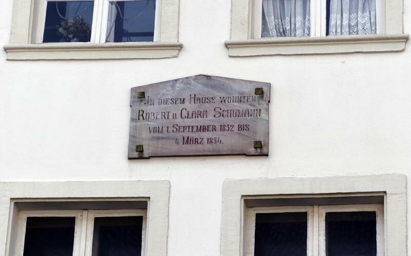 Schumann-Haus in Düsseldorf - Foto: Horst Ossinger