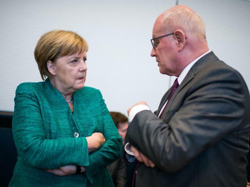 Merkel und Kauder - Foto: Bernd von Jutrczenka/Archiv