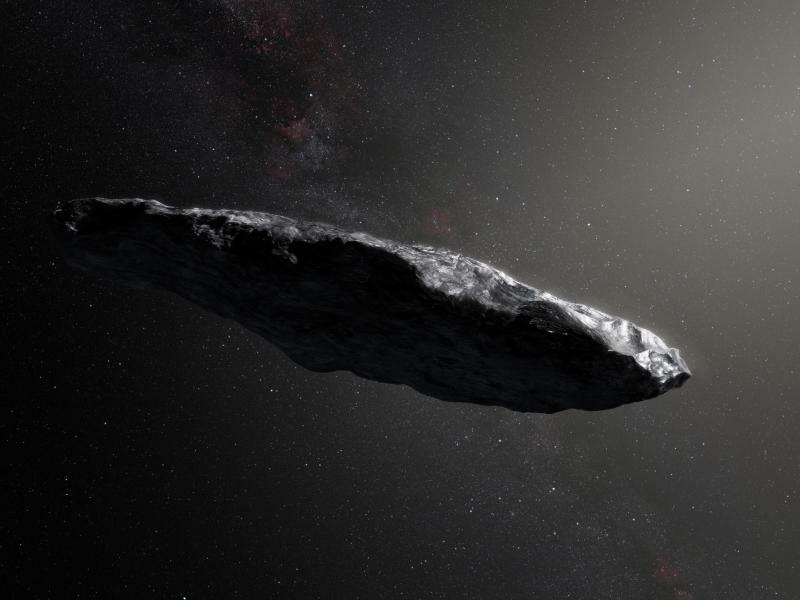Asteroid «Oumuamua» - Foto: M. Kornmesser/European Southern Observator