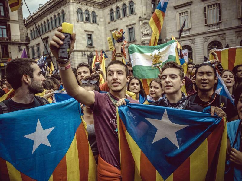 Ein Jahr Unabhängigkeitsreferendum - Foto: Matthias Oesterle/ZUMA Wire