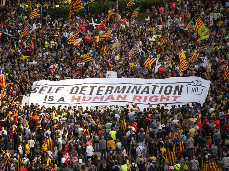 Protest in Barcelona - Foto: Nicolas Carvalho Ochoa