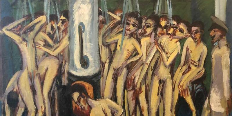 «Soldatenbad» von Ernst Ludwig Kirchner - Foto: Mel Urbach