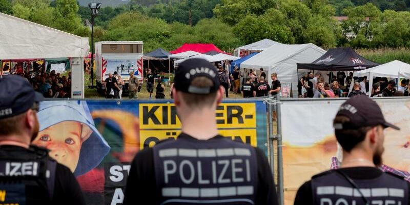 Rechtsrock-Konzert - Foto: FrM