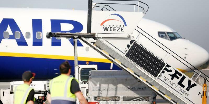 Flughafen Weeze - Foto: Roland Weihrauch