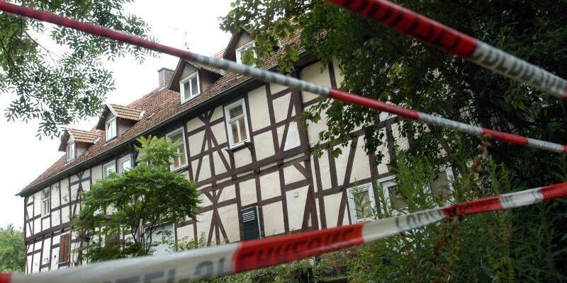Tatort in Rotenburg - Foto: Uwe Zucchi