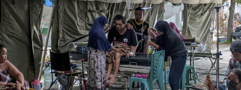 Krankenstation - Foto: Fauzy Chaniago/AP