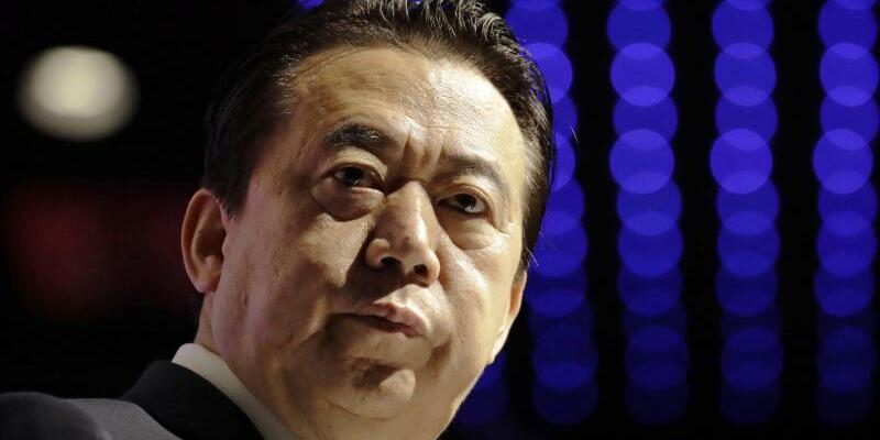 Meng Hongwei - Foto: Wong Maye-E/AP