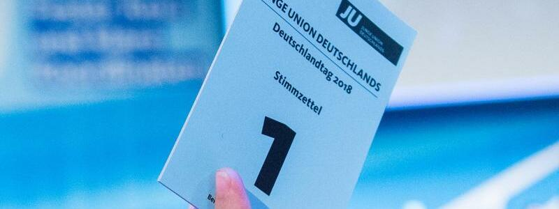 JU-Stimmzettel - Foto: Daniel Bockwoldt