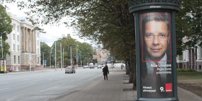 Wahlplakat - Foto: Alexander Welscher