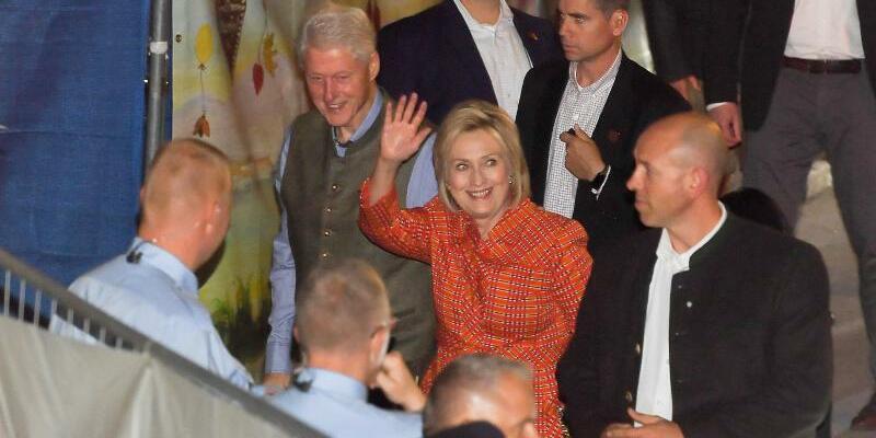 Bill und Hillary Clinton - Foto: Tobias Hase