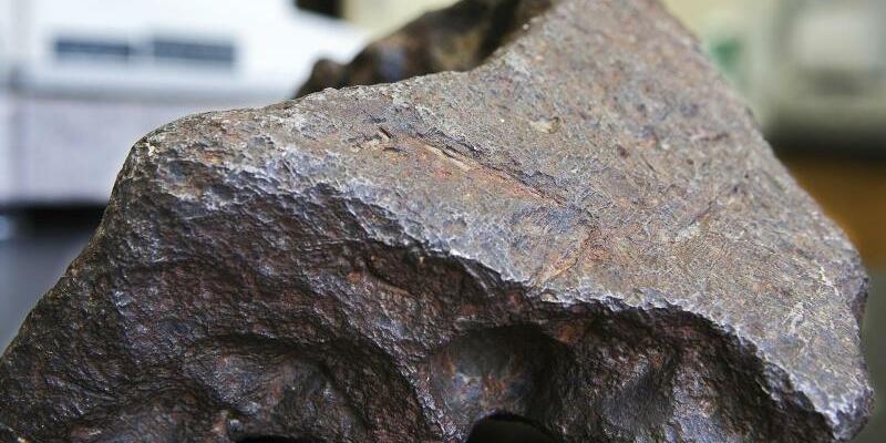 Meteorit - Foto: Mackenzie Brockman/Central Michigan University