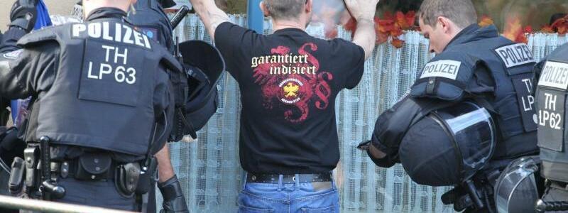 Rechtsrock-Konzert in Thüringen - Foto: Sebastian Haak