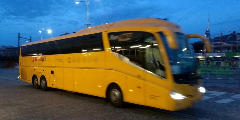 Regiojet-Bus - Foto: über dts Nachrichtenagentur