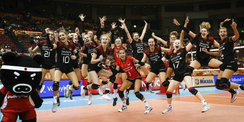 Sensationssieg - Foto: FIVB/AP