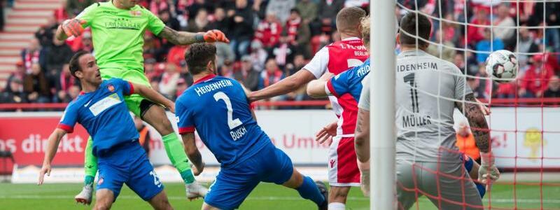 1. FC Union Berlin - 1. FC Heidenheim - Foto: Annegret Hilse