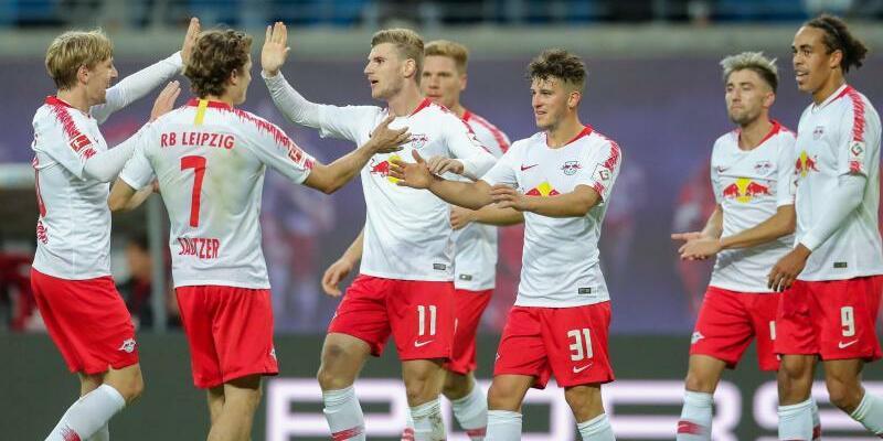 RB Leipzig - 1. FC Nürnberg - Foto: Jan Woitas