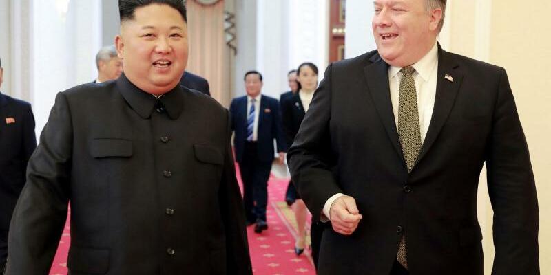 Pompeo besucht Nordkorea - Foto: KCNA