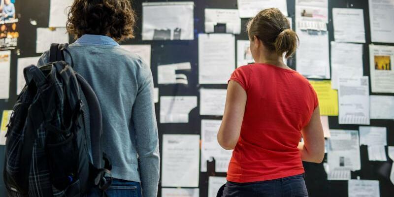 Studenten suchen Wohnungen - Foto: Matthias Balk