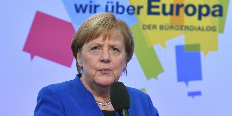 Angela Merkel - Foto: Harald Tittel