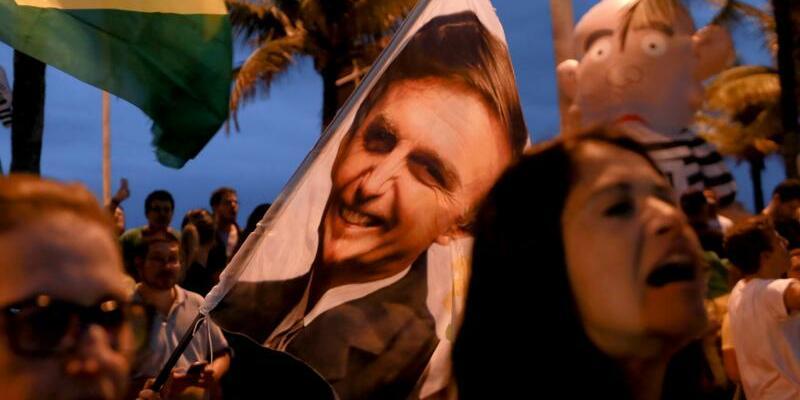 Bolsonaro-Anhänger in Rio - Foto: Ian Cheibub