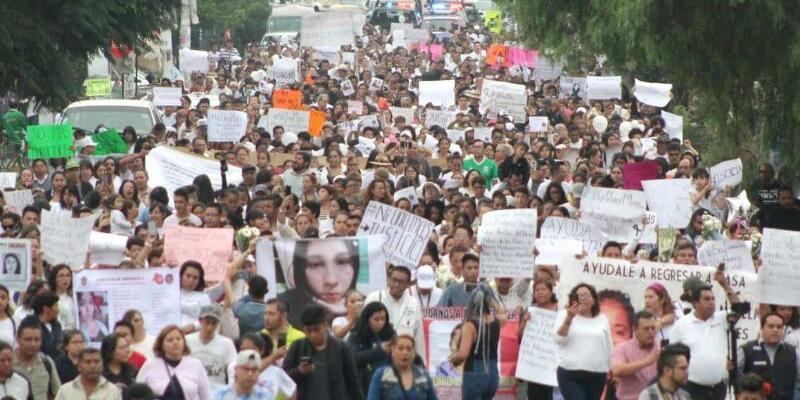 Protestmarsch - Foto: El Universal/El Universal via ZUMA Wire