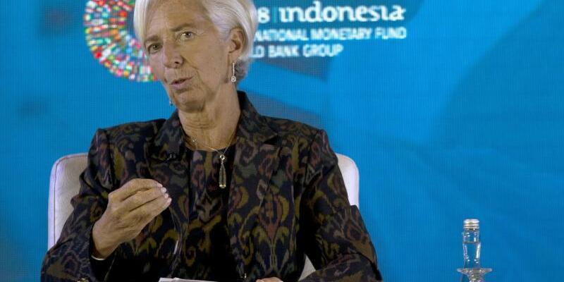 IWF-Chefin Lagarde in Indonesien - Foto: Firdia Lisnawati/AP