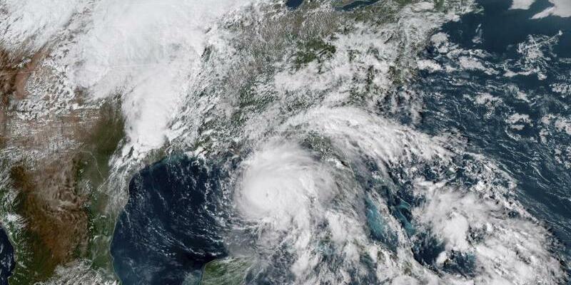 Hurrikan «Michael» - Foto: NOAA/AP