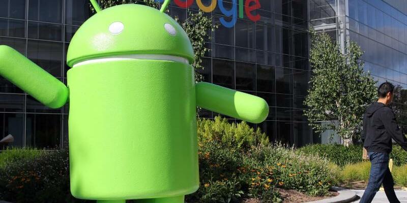 Android-Figur - Foto: Christoph Dernbach