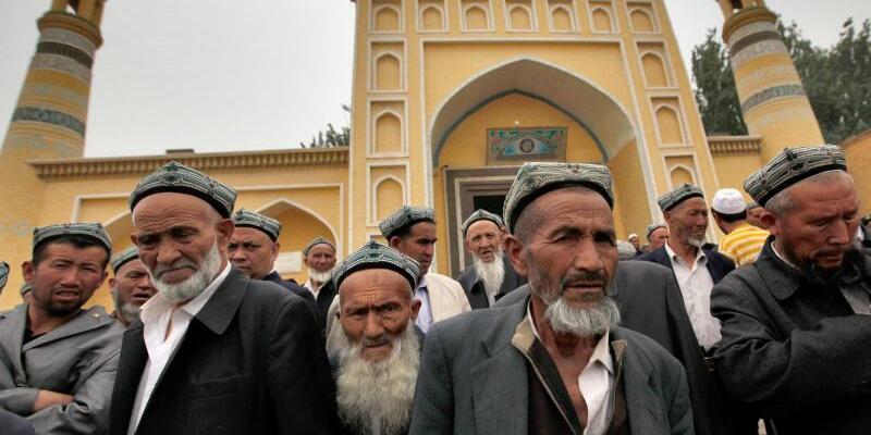 Uiguren in Xinjiang - Foto: How Hwee Young/EPA/Archiv