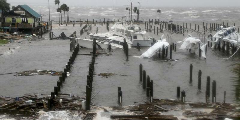 Hurrikan «Michael» - Foto: Douglas R. Clifford/Tampa Bay Times/AP