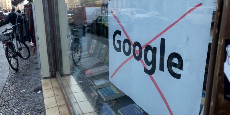 Protest gegen Google - Foto: über dts Nachrichtenagentur