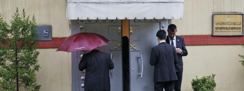 Saudisches Konsulat - Foto: Lefteris Pitarakis/AP