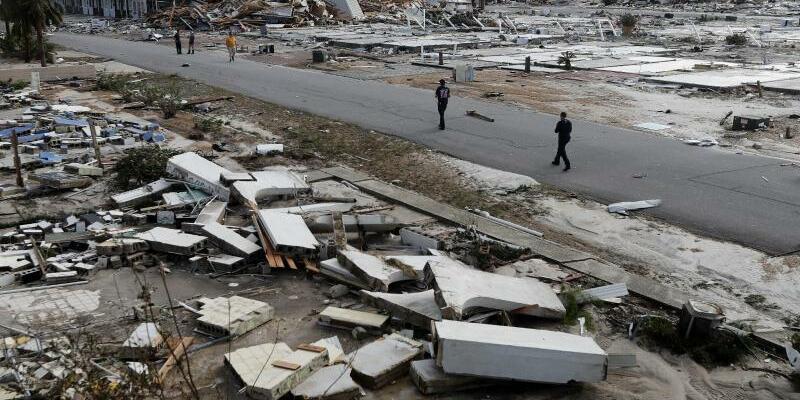 Zerstörung - Foto: Gerald Herbert/AP