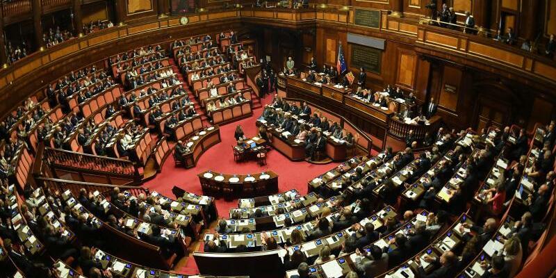 Parlament in Rom - Foto: Alberto Lingria/XinHua/Archiv